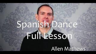 Spanish Dance for Classical Guitar - Full Lesson