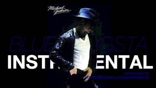 Michael Jackson - Blue Gangsta (2014 Version) INSTRUMENTAL w/ DOWNLOAD LINK