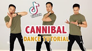 Cannibal Ke$ha Tik Tok (DANCE TUTORIAL) |Step By Step