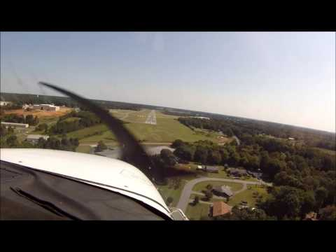 Flying in a 1975 Cessna 172!