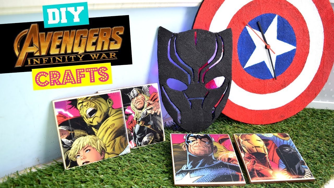 Not For The Faint Crafted Diy Marvel Avengers Fandom
