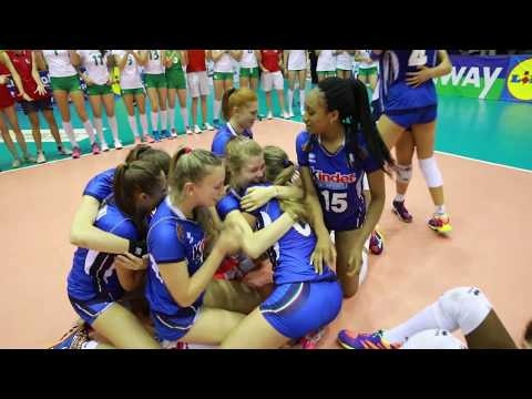 All the action of EuroVolleyU16W in Bulgaria