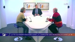 Yvelines | Lutte ouvrière engagée dans la campagne des Municipales dans les Yvelines
