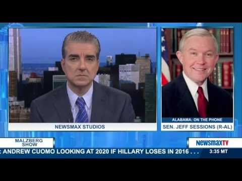 Malzberg   Sen. Jeff Sessions to discuss the midterms, immigration, and his article