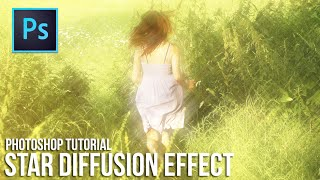 Star Diffusion Effect - Photoshop Tutorial