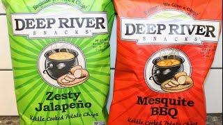 Deep River Snacks: Zesty Jalapeno & Mesquite Bbq Review