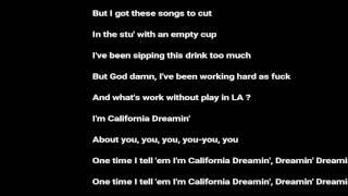 LYRICS Arman Cekin - California Dreaming (feat. Paul Rey)