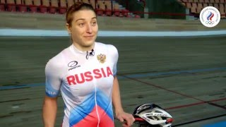 """""""Знать наших"""". Дарья Шмелёва. Велоспорт на треке"""