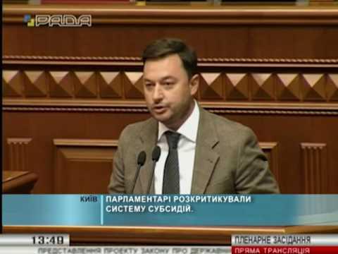 Парламентарі розкритикували систему субсидій