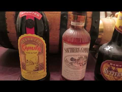 Vintage collection liqueur from 1970's and 80's.