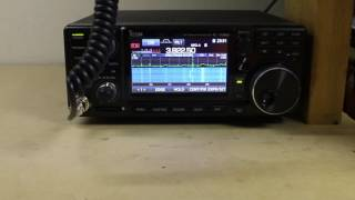 Icom 7300 Panadapter HDSDR Demo — MyVideo