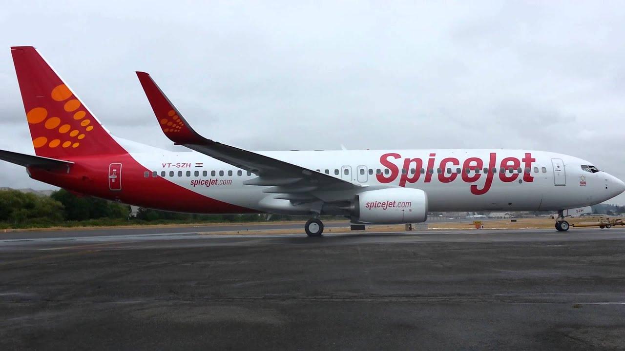 New Spice Jet Boeing 737 800