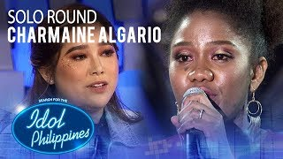 Charmaine Algario - Stand Up For Love | Solo Round | Idol Philippines 2019