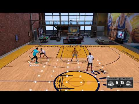 2v2 with curry and D'angelo Russell