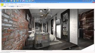 видео уроки программы про100. визуализация проекта