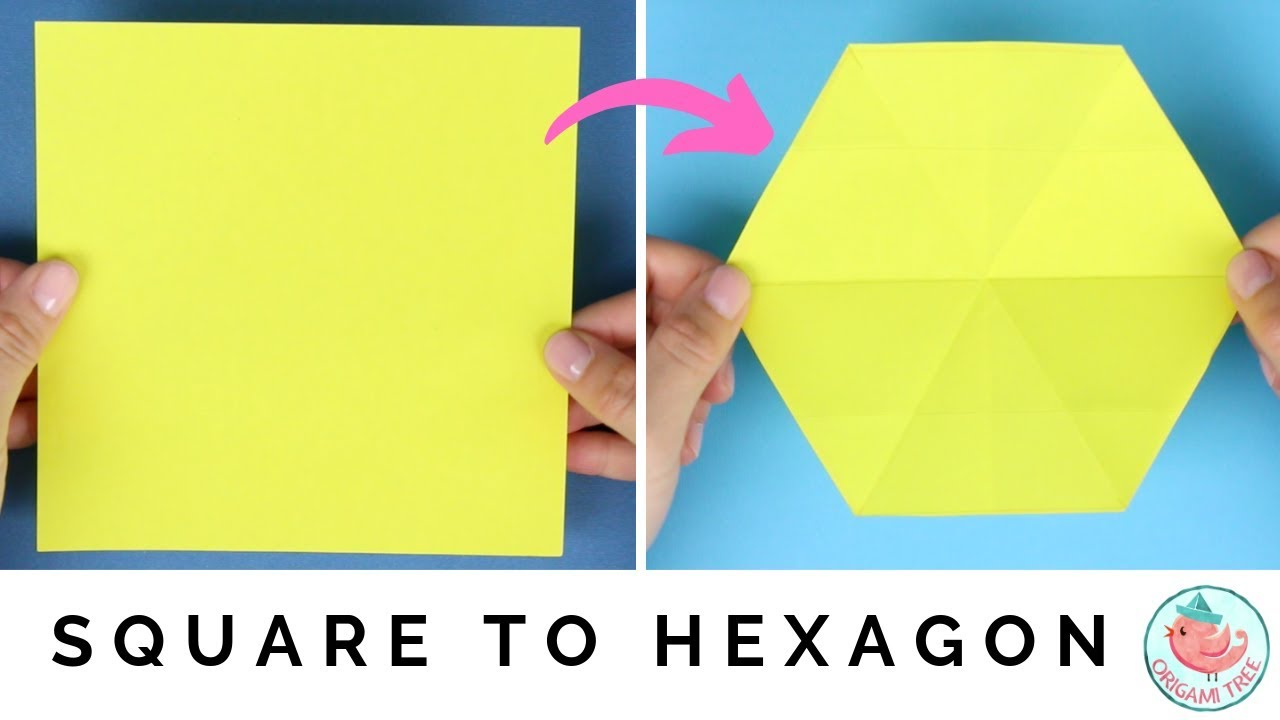 How To Make A Hexagon From Square