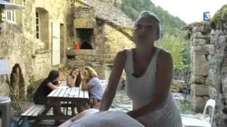 Le hameau de la Sablie?re Gorges du Tarn, bouillon de culture...