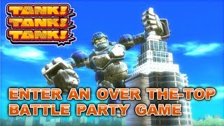 Tank! Tank! Tank! - Wii U - Enter an over the-top battle party game with TANK! TANK! TANK!