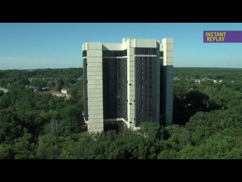 Higgins Hall Implosion - Western Illinois University