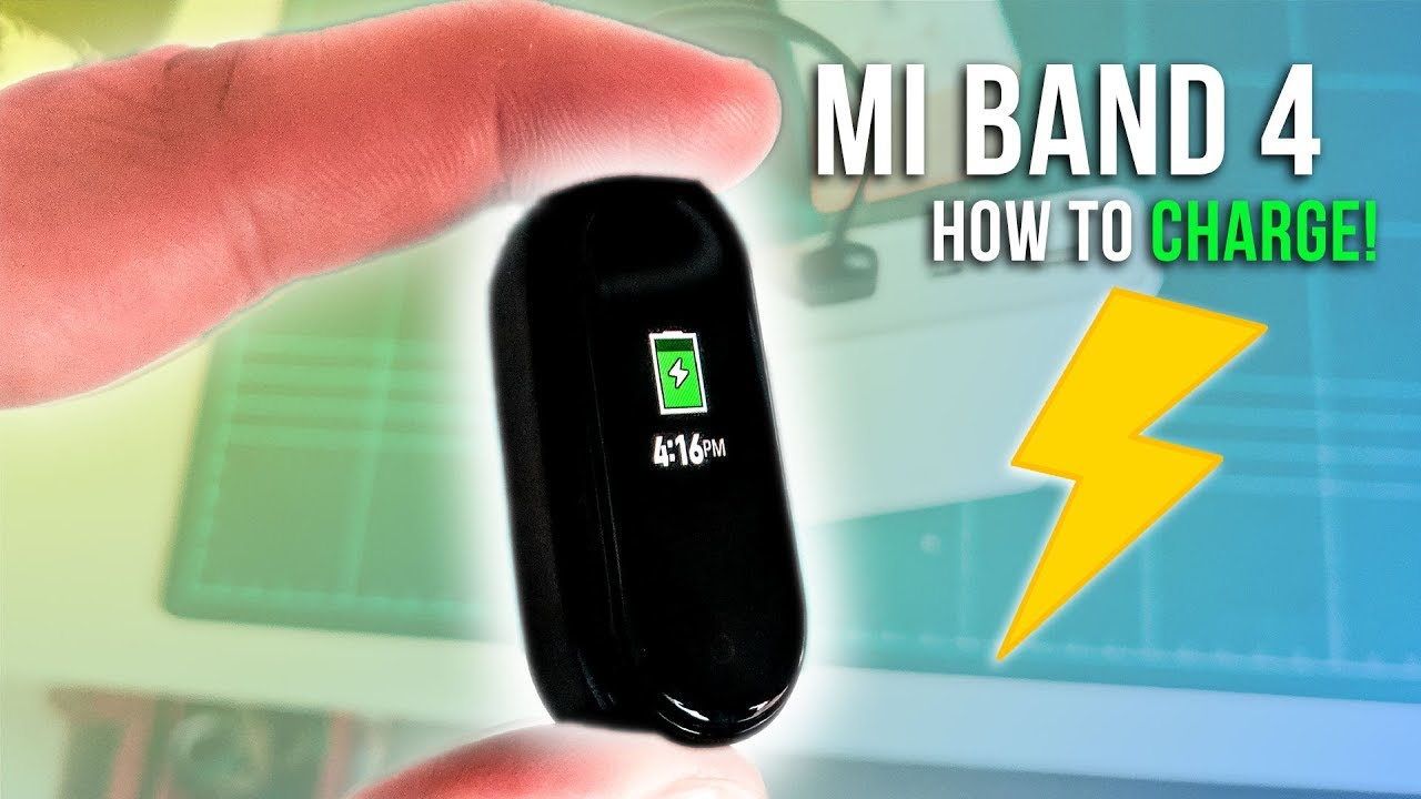 Xiaomi Mi Band 4 Charging Guide - How to charge the Mi Band 4!