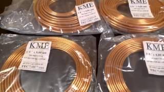 Медные трубы для водопровода, отопления 6,35 и 9,52 мм Sanco KME (Санко КМЕ Германия)(eurounica.com 032 232-80-42, +38(067)451-80-90 Видео обзор медных труб KME применяемых для систем отопления, водопровода, кондици..., 2014-01-17T11:40:41.000Z)