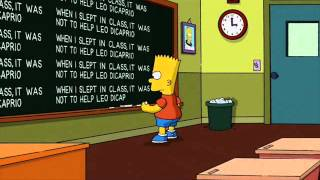 Bart Simpson and Buster Poindexter - School day