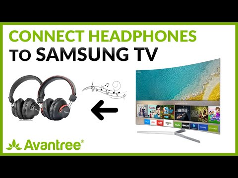 Bluetooth Headphones For Samsung Tv How To Connect Headphones To Samsung Tv Youtube
