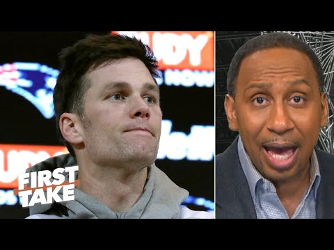Stephen A. makes the case for Tom Brady to the Titans | First Take