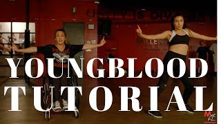 Youngblood- 5SOS DANCE TUTORIAL CONTEST| Dana Alexa Choreography