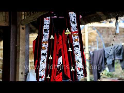Ao Arju Kisama regalia at Hornbill Festival 2013