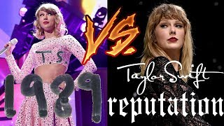 """EVERY SONG FROM """"REPUTATION"""" DONE AS """"1989"""" TAYLOR SWIFT! (ACOUSTIC MASH-UPS)"""