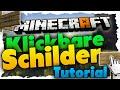 Anklickbare Schilder in Minecraft! Commands in Schildern - Minecraft 1.8 Tutorial