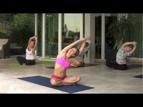 beginners seated yoga sequence  youtube