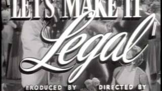 Marilyn Monroe: Let's Make it Legal (1951)