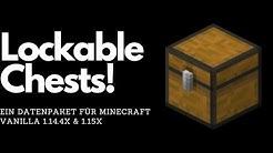 Verschließbare Truhen || Vanilla Mod für Minecraft 1.15 Vanilla + Download