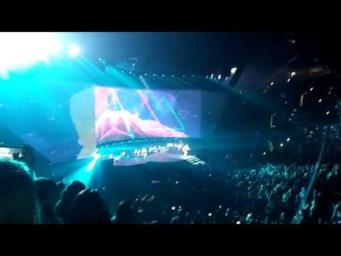 Demi Lovato Concert at San Antonio AT@T Center Steptember 10,2016