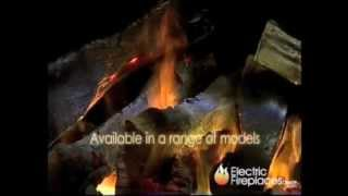 Optimyst Electric Fireplace Log Set/insert - First Time In United States!