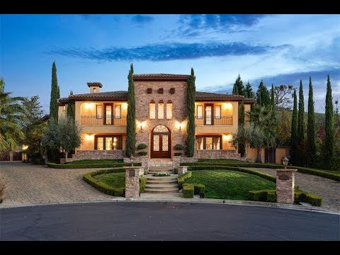 Elegant tuscan estate in alamo california sotheby 39 s - Tuscany sotheby s international realty ...