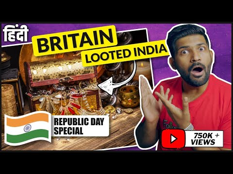 Republic Day Special - how British looted India? | Truth of Colonization of India | Abhi and Niyu