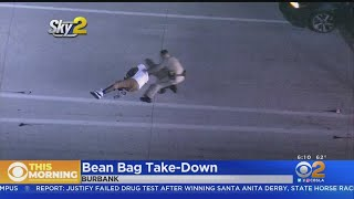Caught On Video: Police Take Down DUI Suspect With Bean Bag After High-Speed Chase