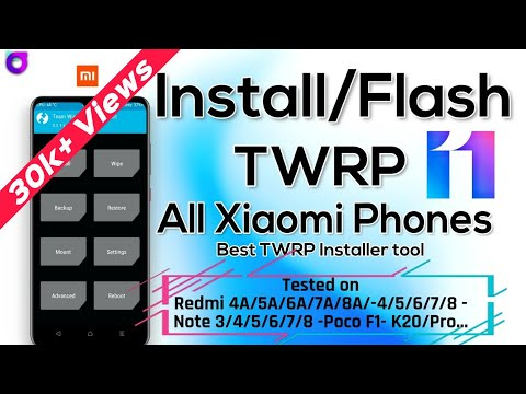 Install TWRP (Custom Recovery) In All Phones | Best Tool For TWRP Flash | TWRP Installer For Xiaomi