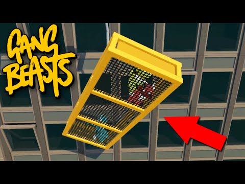 Gang Beasts Online - ESPECIAL no MAPA DO GUINDASTE!