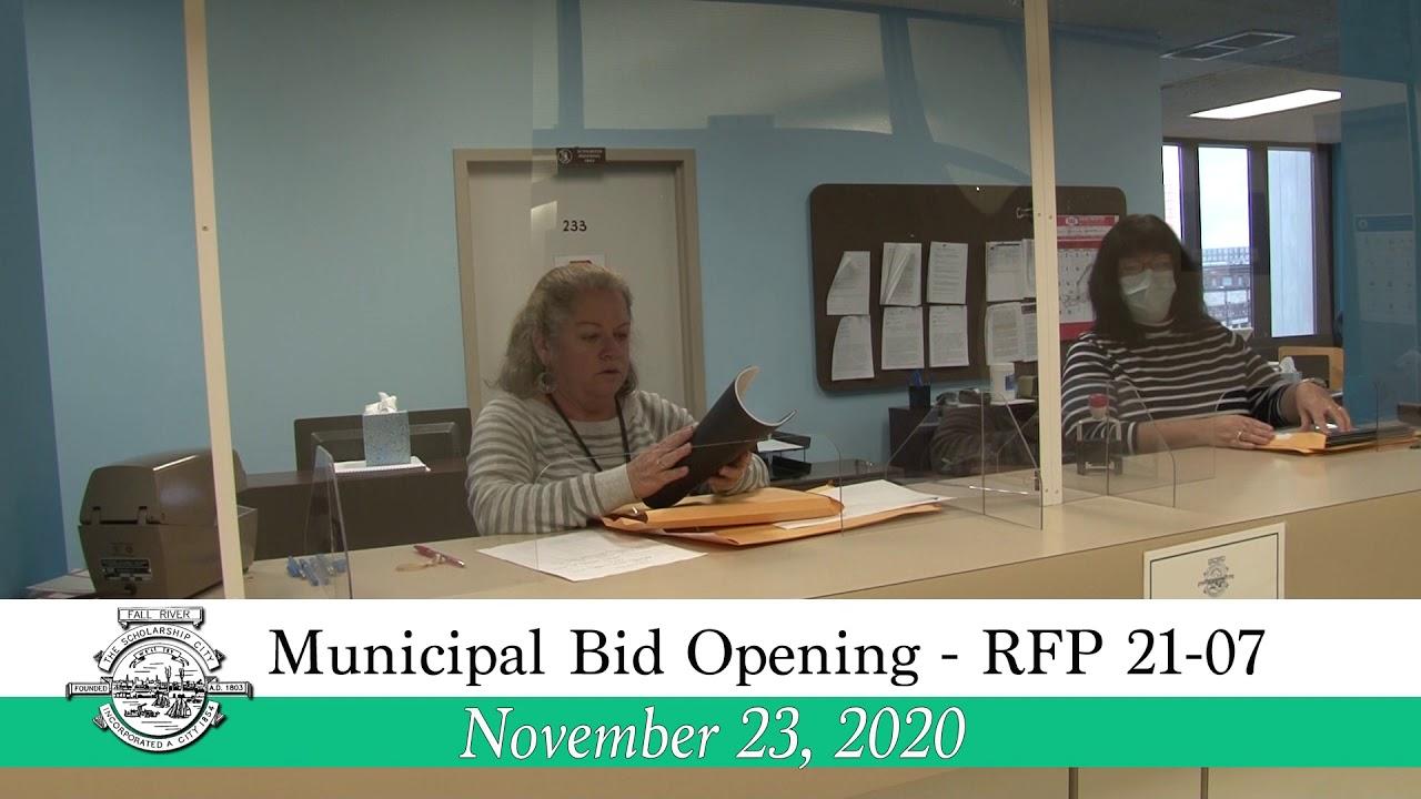 9.9.9 Municipal Bid Opening - RFP 9-9