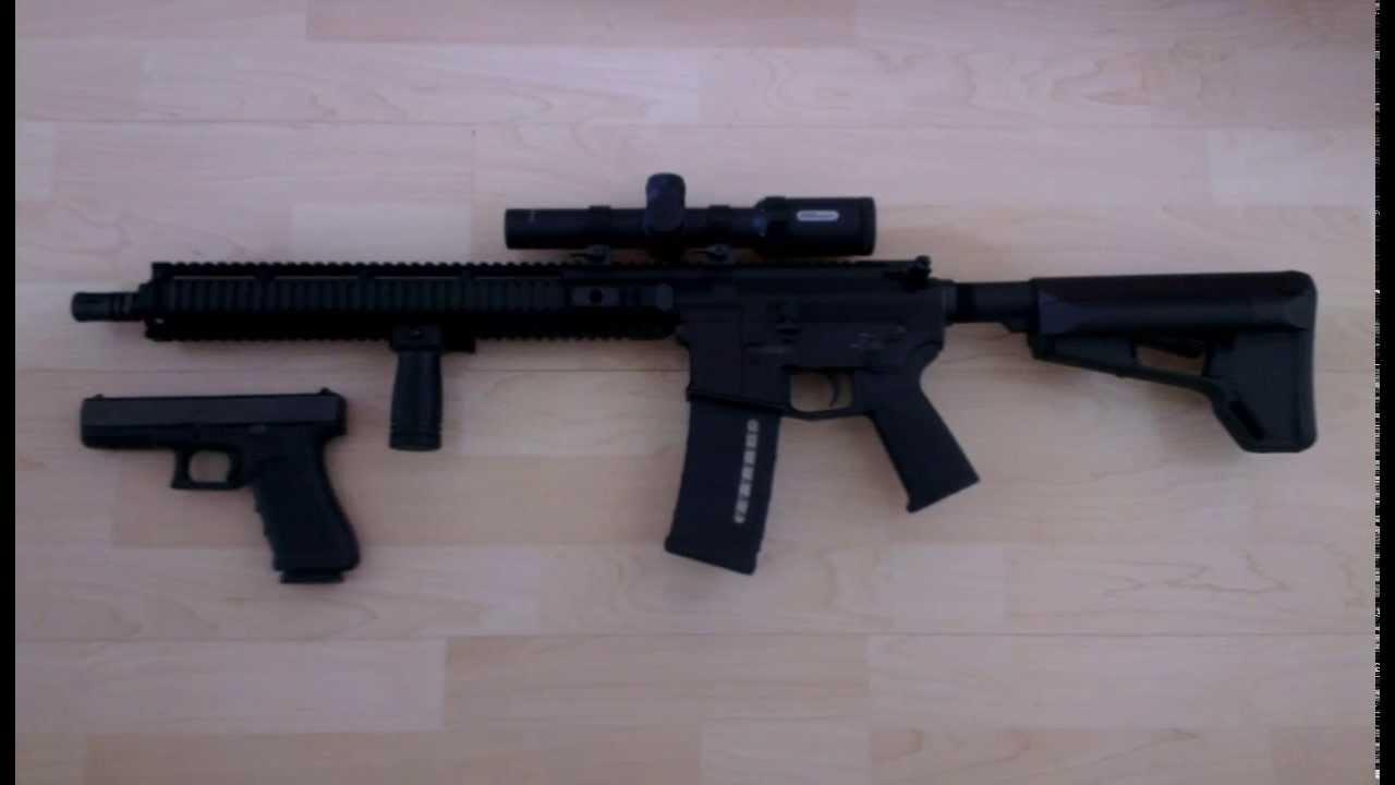 Hera Arms AR15 - Glock 17 Gen4 - Glock Field Knife