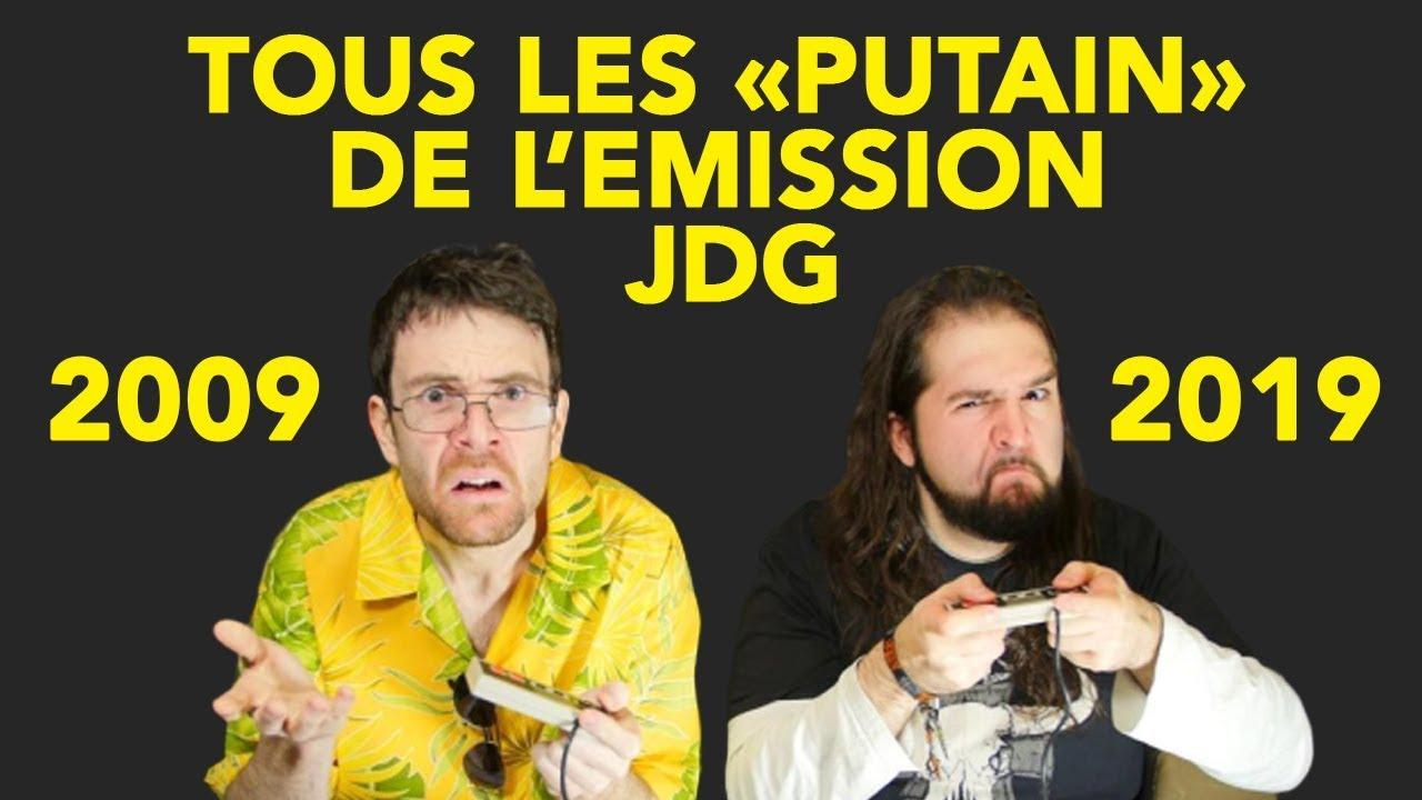 """Tous les """"Putain"""" de l'émission JDG (2009-2019)"""