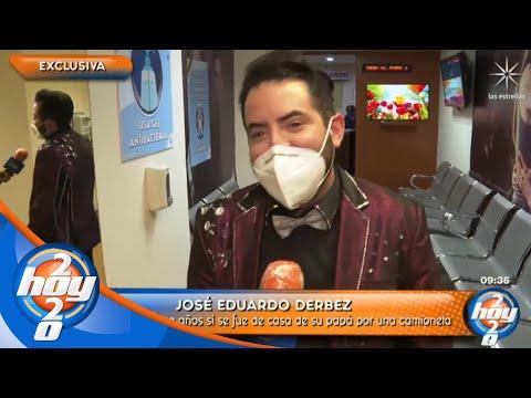 José Eduardo Derbez le responde a Eugenio Derbez tras echarlo de cabeza | Hoy