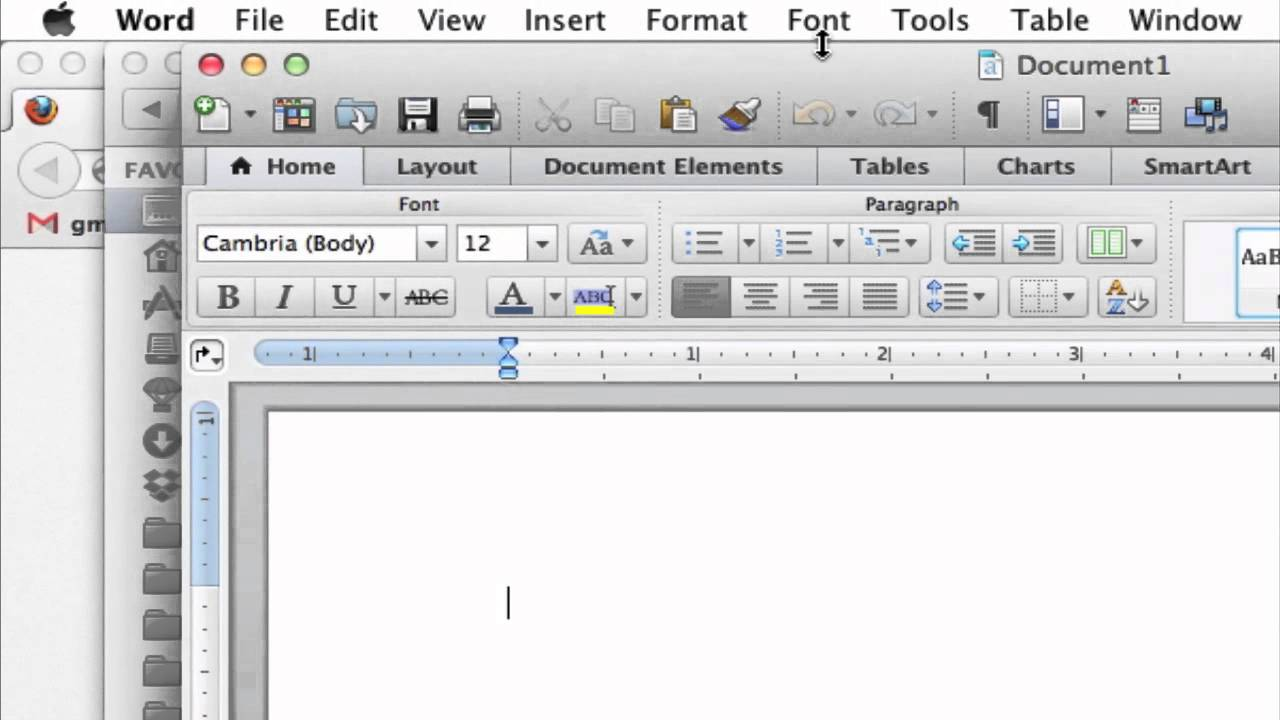 How To Insert A Screenshot Into A Microsoft Word Document : Web Browsers