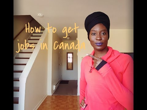 How To Get Jobs In Canada
