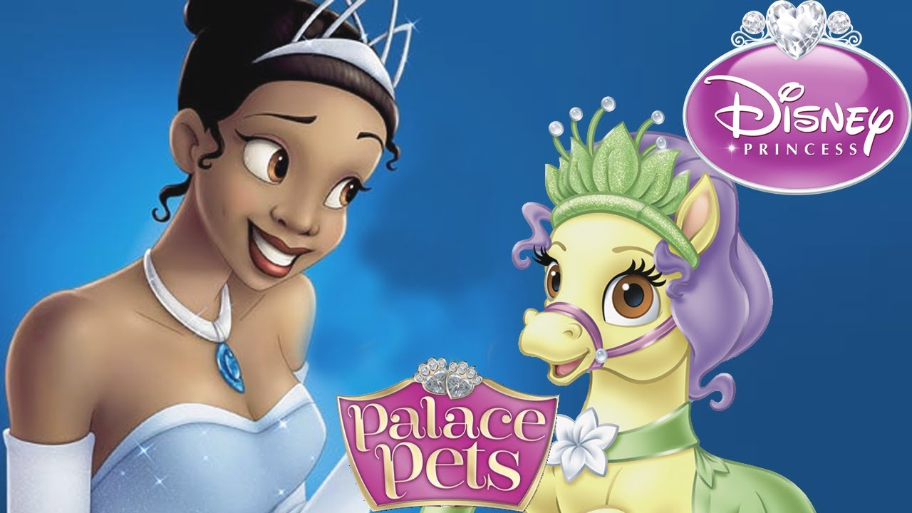 Palace pets tiana and bayou dress up new palace pet youtube