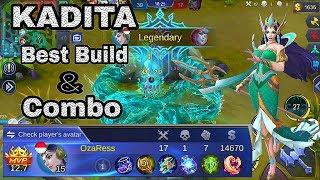 Kadita Gameplay Best Build And Combo - Mobile Legends Bang Bang